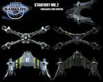 Babylon 5 - STARFURY MK.2 - 01