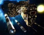 Omega Class torpedo launch