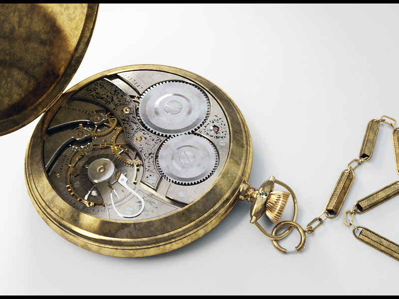 Old Pocket Watch by TMC-Deluxe