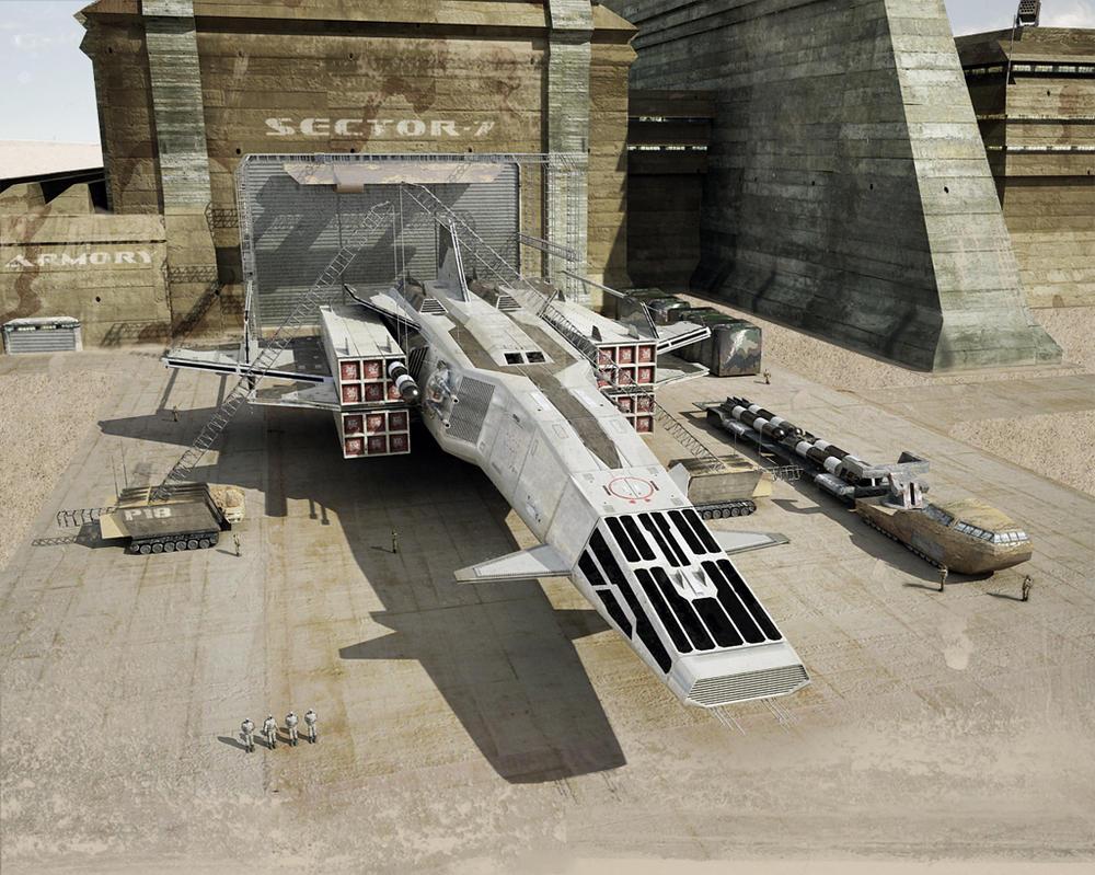 XS-115 War-Sagitta by TMC-Deluxe