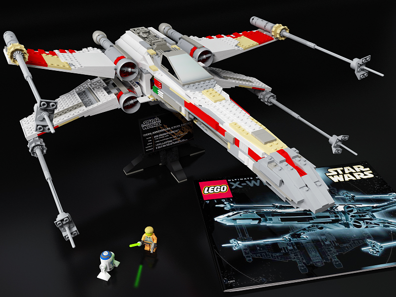 Lego X Wing Fighter Ultimate By Tmc Deluxe On Deviantart