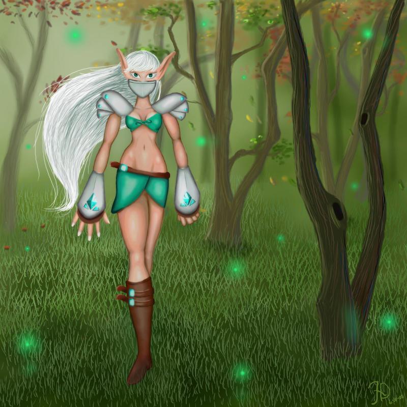 War Elf by Lost-Elf