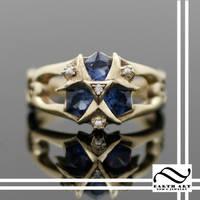 Custom Zoras Sapphire in 14k by mooredesign13