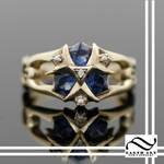 Custom Zoras Sapphire in 14k