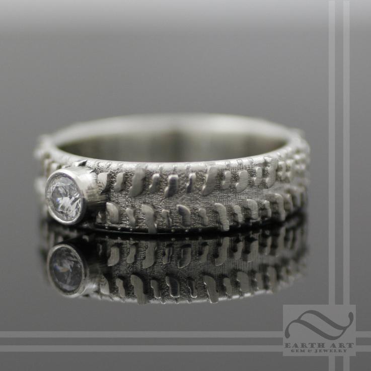 14k gold mud bogger tire ring by mooredesign13 on deviantart