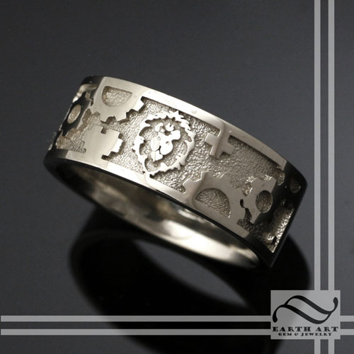 Wow Alliance Mens Wedding Band by mooredesign13 on DeviantArt