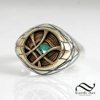 Eye of Agamotto Signet Ring