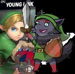 Young Zorua, Hero of Time!