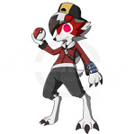 REQUEST: Ethan The Midnite Lycanroc