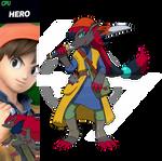 Zoroark The Eighth Hero! [Hero-Eight x Zoroark]