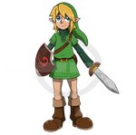Young Link redesign