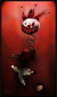 Freak Clown by AmitSadik