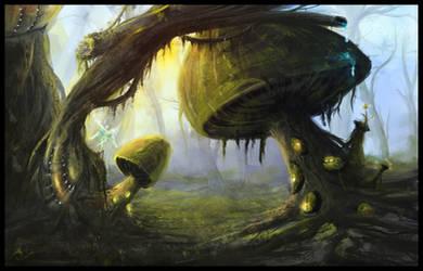 Fairies drive in by AmitSadik