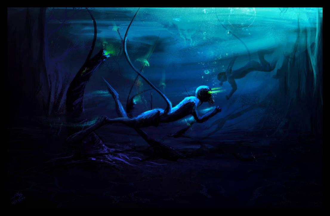 Underwater tour by AmitSadik