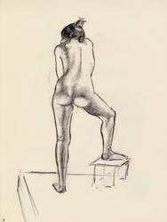 Figure drawing #3 by AmitSadik