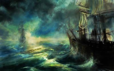 Ship to Wreck by AmitSadik
