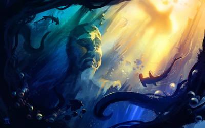 Underwater Soul by AmitSadik