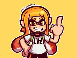 Rude Inkling Girl by CoverHyphen