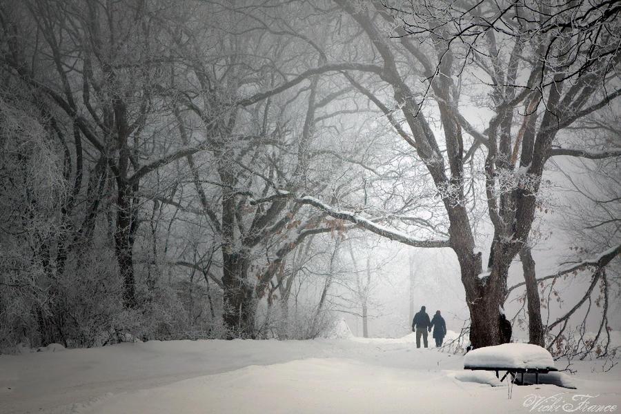 Lovers Walking