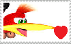 Kazooie stamp by Catcupcake