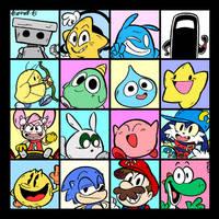 My Gaming Heroes by NostalgiaLad2