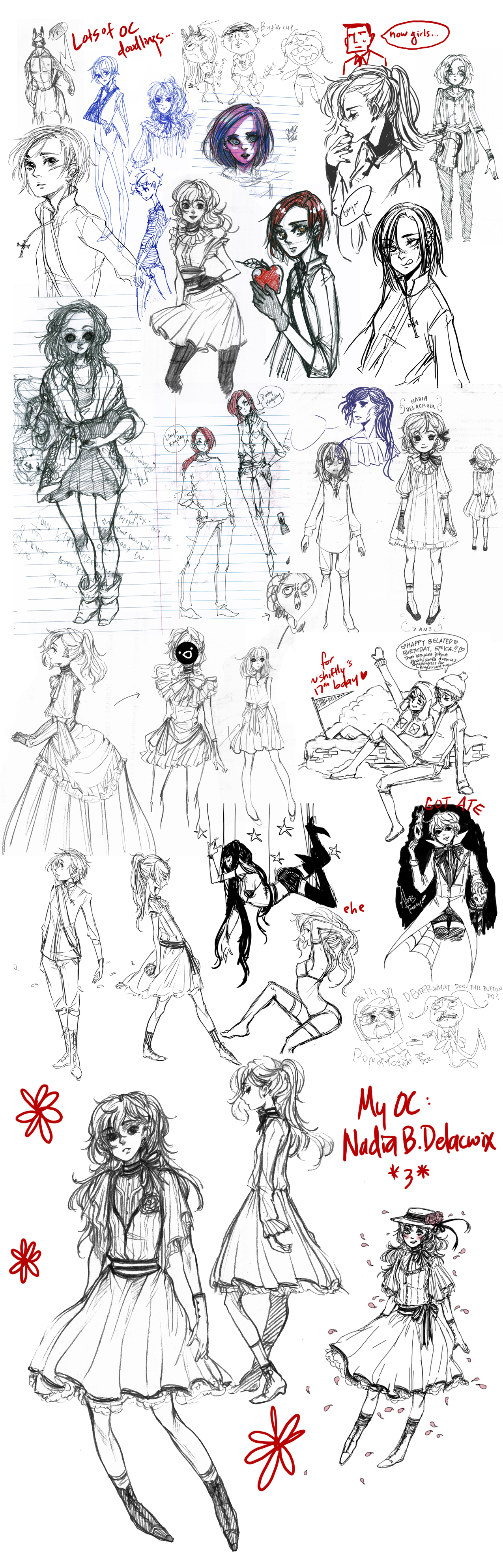 OTHER SKETCHES by johwa