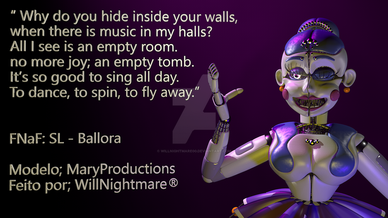 (C4D - FNaF) My music by willnightmare00