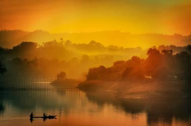 Rangamati Sunset by ehabm
