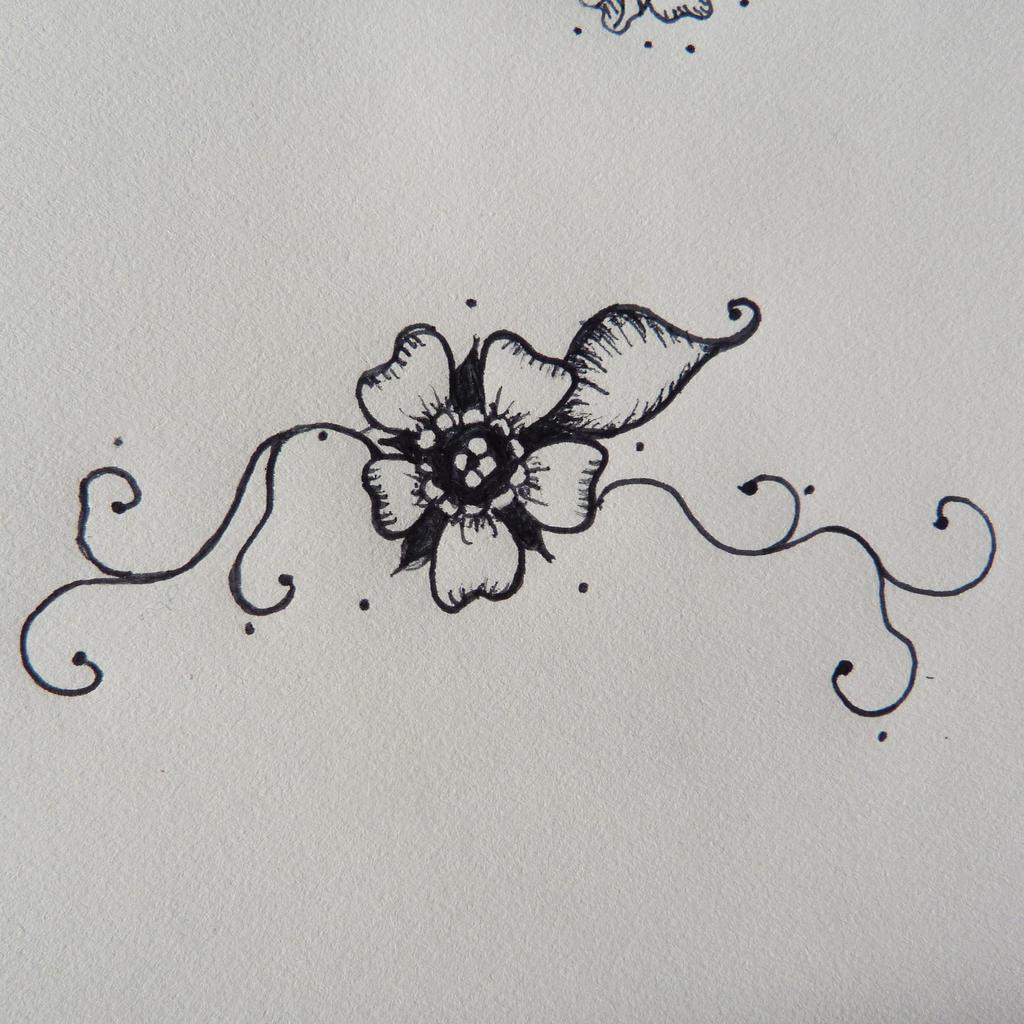 Henna Flower Design by lalalamagicbeanslala on DeviantArt