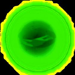 Ball of Green Equestrian Magic by venjix5