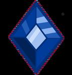 Blue Alicorn Amulet gem Vector