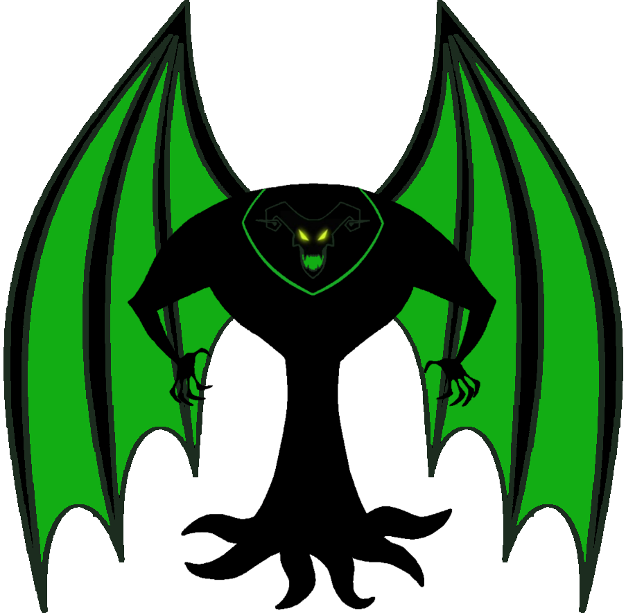 Zhan Tiri Silhouette With Wings By Venjix5 On Deviantart