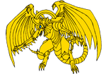 The Winged Dragon of Ra (vector)