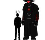Venjix5 (Robot Body) Height Chart (alt face) by venjix5