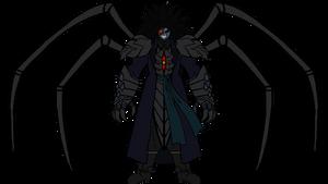 Dark Emperor N. Shroud (with spider limbs)