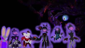 Dharkon's Venjix and the Dark Betas Puppets