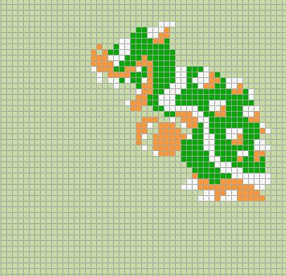 37891785bowser Super Mario Bros By Pixelartnes On Deviantart