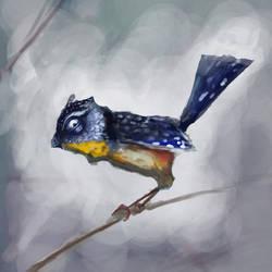 Bird of the Speckled Veriety