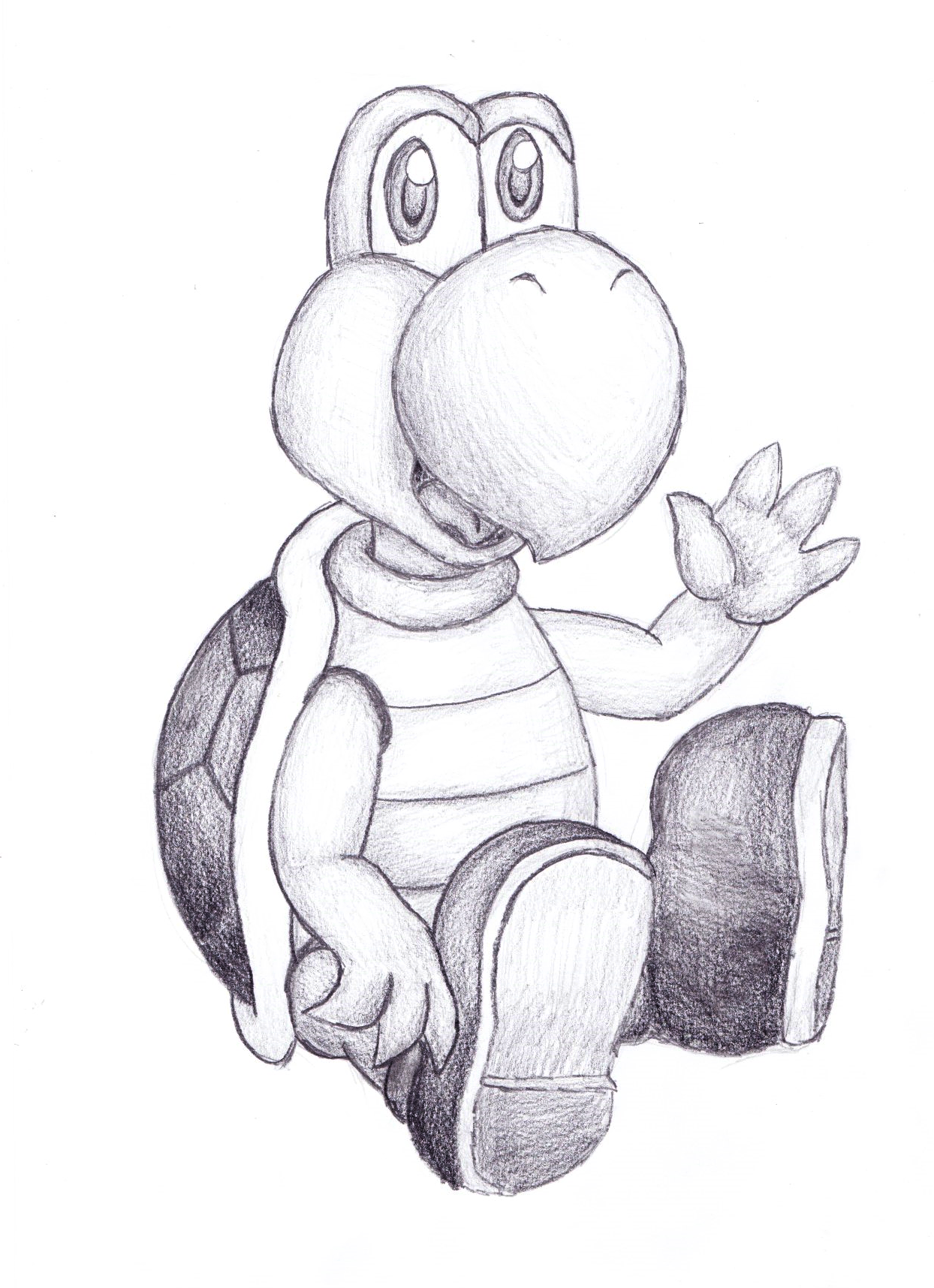 koopa troopa by jaukuwa on deviantart