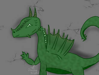 Dragon by DrawingDirected