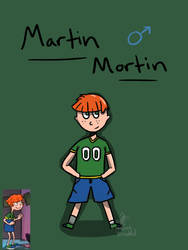 Mimi Mortin: Request by DrawingDirected