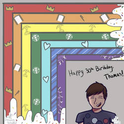 Happy Birthday Thomas! by DrawingDirected