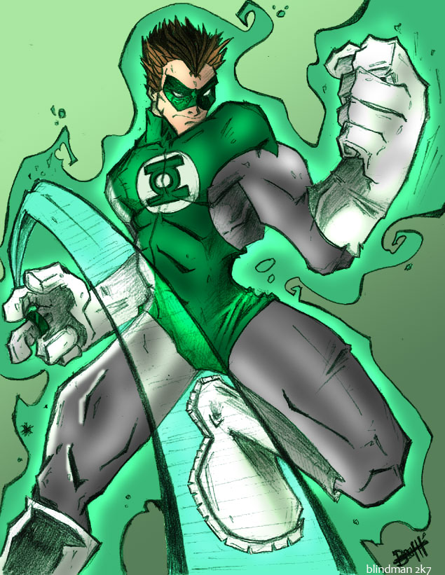 Green Lantern by Blindman-CB
