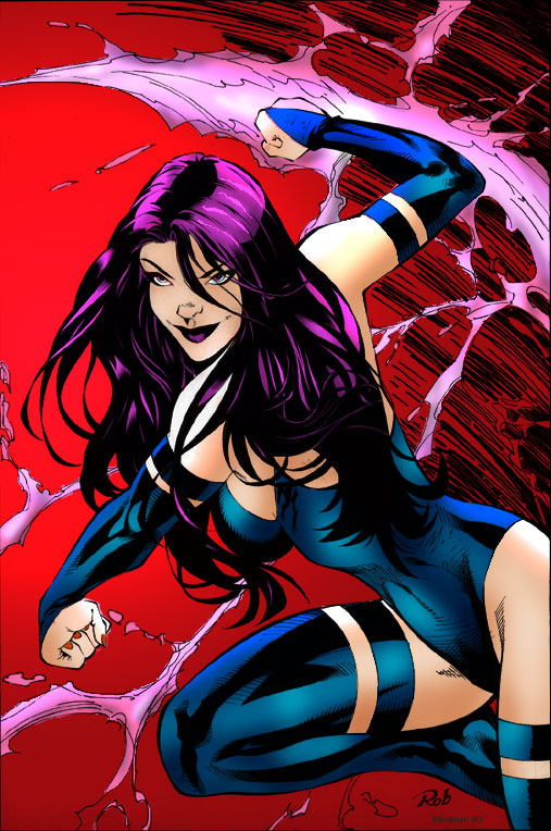 Psylocke by Blindman-CB