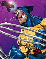 Wolverine by Steven Sanchez by Blindman-CB