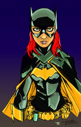 Batgirl by KidNotorious by Blindman-CB
