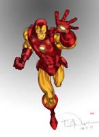 Iron Man by Todd Nauck by Blindman-CB