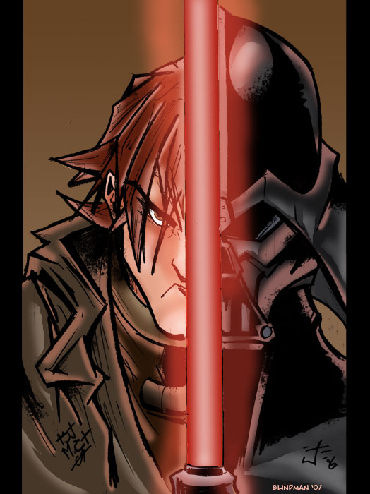 Anakin Skywalker by Blindman-CB