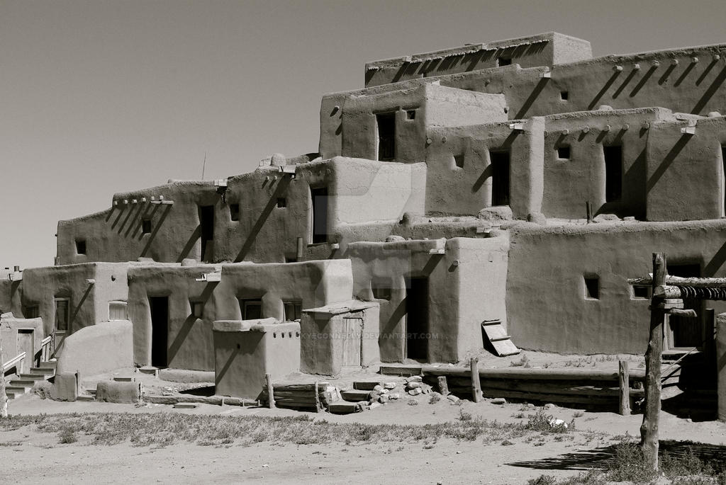 Taos Pueblo by skyeconnelly