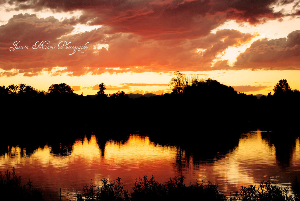 Dusk at Washington Park by skyeconnelly
